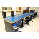 LOT OF WORKSTATIONS (3) (located in the track room) (Location 2 - Fallstone A)