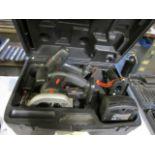 CIRCULAR SAW, CRAFTSMAN, 19.2 v., w/drill & flashlight (no batteries)