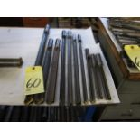 LOT OF SPADE DRILLS (10), assorted