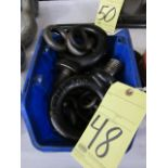 LOT OF EYEBOLTS, assorted (in one box)