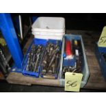 LOT OF DRILLS, assorted (in four boxes)