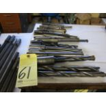 LOT OF SPADE DRILLS (21), assorted