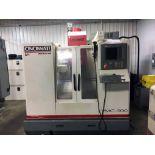 CNC VERTICAL MACHINING CENTER, CINCINNATI ARROW MDL. VMC-500, new 1999, Acramatic 2100 CNC control