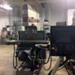 """CNC VERTICAL MILL, TREE MASTER JOURNEYMAN, new 1996, 12"""" x 51"""" table, 30"""" X, 15"""" Y & 6"""" Z-axis"""