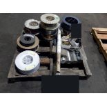LOT OF WELDING ROD & WIRE (must be removed by April 13) (Location 10)