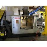 "VERTICAL MACHINING CENTER, TOYODA AWEA MDL. BM-850, new 2006, Fanuc Series 18i-MB CNC control, 33"""