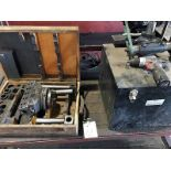 LOT CONSISTING OF: (1) boring head & (1) portable O.D. grinder (must be removed by April 13) (