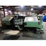 "CNC LATHE, OKUMA MDL. LH35-N, Okuma CNC control, 24"" x 60"", 4-way toolpost, tailstock, assorted"