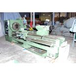 """HOLLOW SPINDLE LATHE, KINGSTON 30"""" OIL COUNTRY MDL. HK-3000, new 2007, 12/5"""" spdl. bore, 30"""" sw."""