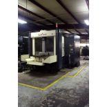 CNC HORIZONTAL MACHINING CENTER, LEBLOND MAKINO MDL. A77, new 1995, Fanuc 16MB Pro CNC control, 24.