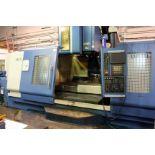 CNC VERTICAL MACHINING CENTER, DAHLIH MDL. DL-MCV2100, new 2008, Fanuc Series 21i-MB CNC control,