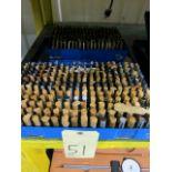 LOT OF PIN GAUGES, .061 to .500