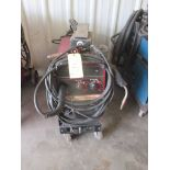 WELDER, LINCOLN WIREMATIC 255, 35% duty cycle, 250 amps., 26 v., S/N U1950310903