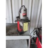 ELECTRIC MAGNETIC BASE DRILL PRESS, MILWAUKEE, S/N 00598C314510066