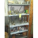 LOT OF CRYOGENIC RELATED PARTS (on one shelf)