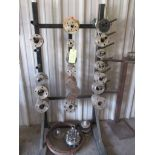 LOT OF STAINLESS STEEL FLANGES