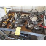 """LOT OF GRINDERS, 4 1/2"""" & 7 1/2"""", w/carts"""