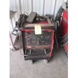 WELDER, LINCOLN SQUARE WAVE TIG 275, 40% duty cycle, 275 amps., 31 v., S/N U1991102075