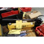 HYDRAULIC POWER PACK, ENERPAC MDL. P392