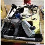 LOT CONSISTING OF: heat gun, bag sealer, ionizing gun