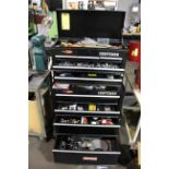 TOOLBOX, CRAFTSMAN, top & bottom, w/contents