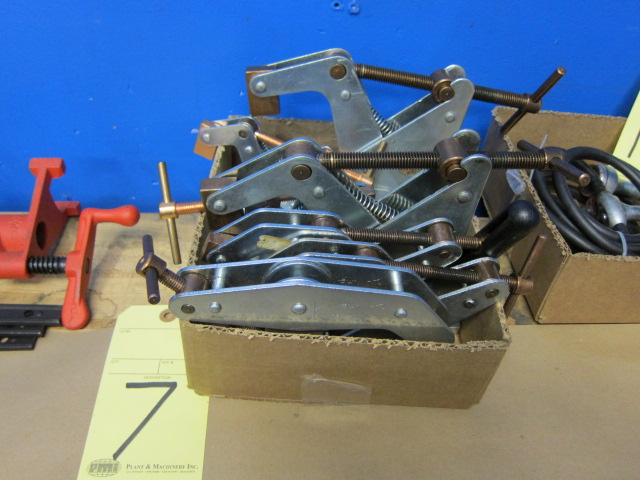 Lot 7 - LOT OF TWIST CLAMPS, KANT, assorted (in one box)