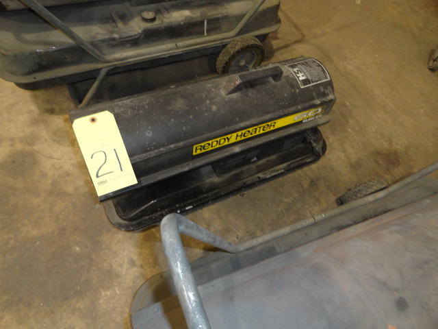 Lot 21 - HEATER, REDDY HEATER, 60,000 BTU