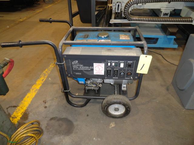 Lot 1 - GENERATOR, TSURUMI MDL. TPG-4300H-DX, AC, 4,300 watt