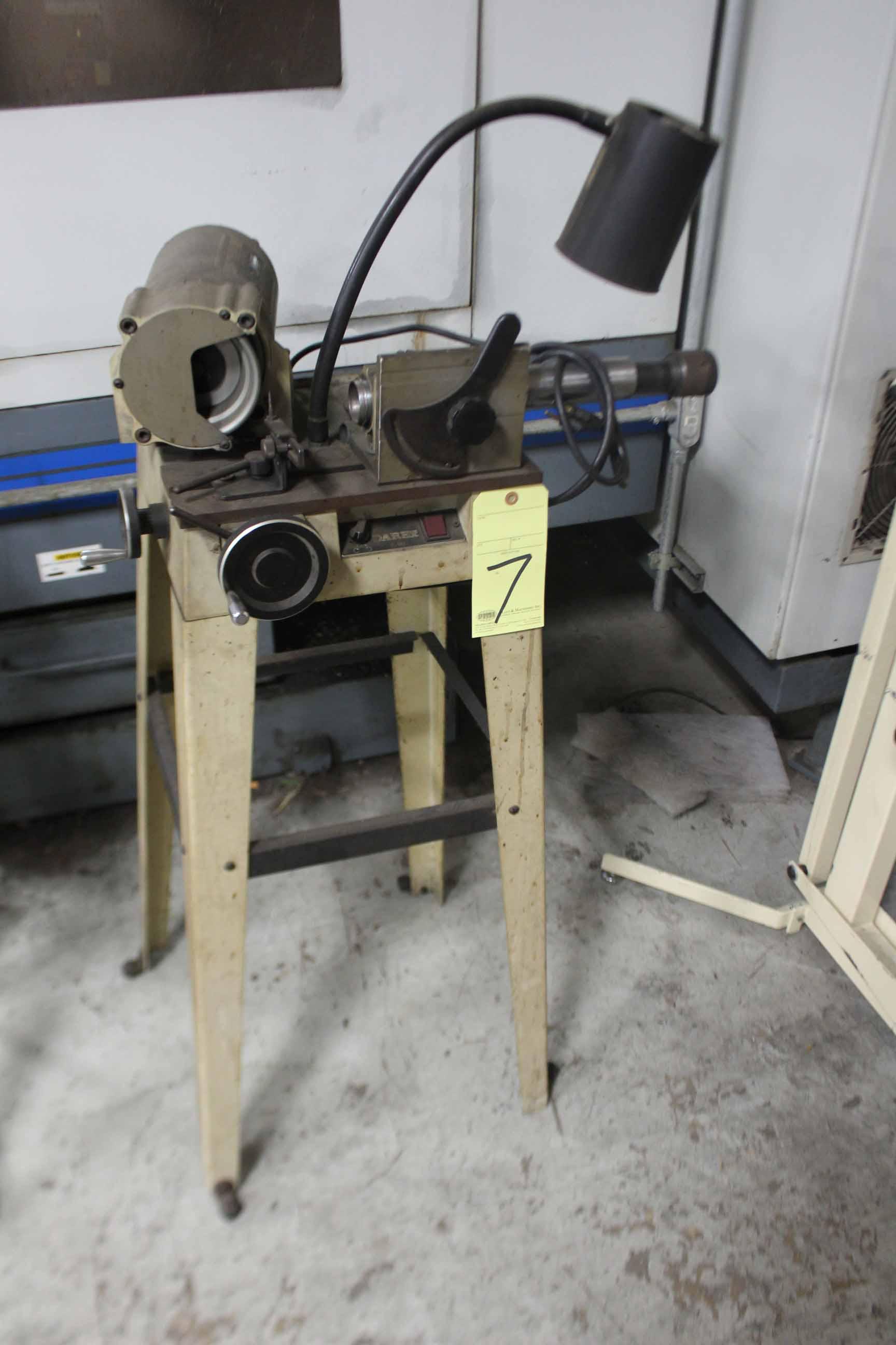 Lot 7 - DRILL SHARPENER, DAREX, 1/4 HP motor, S/N 93346