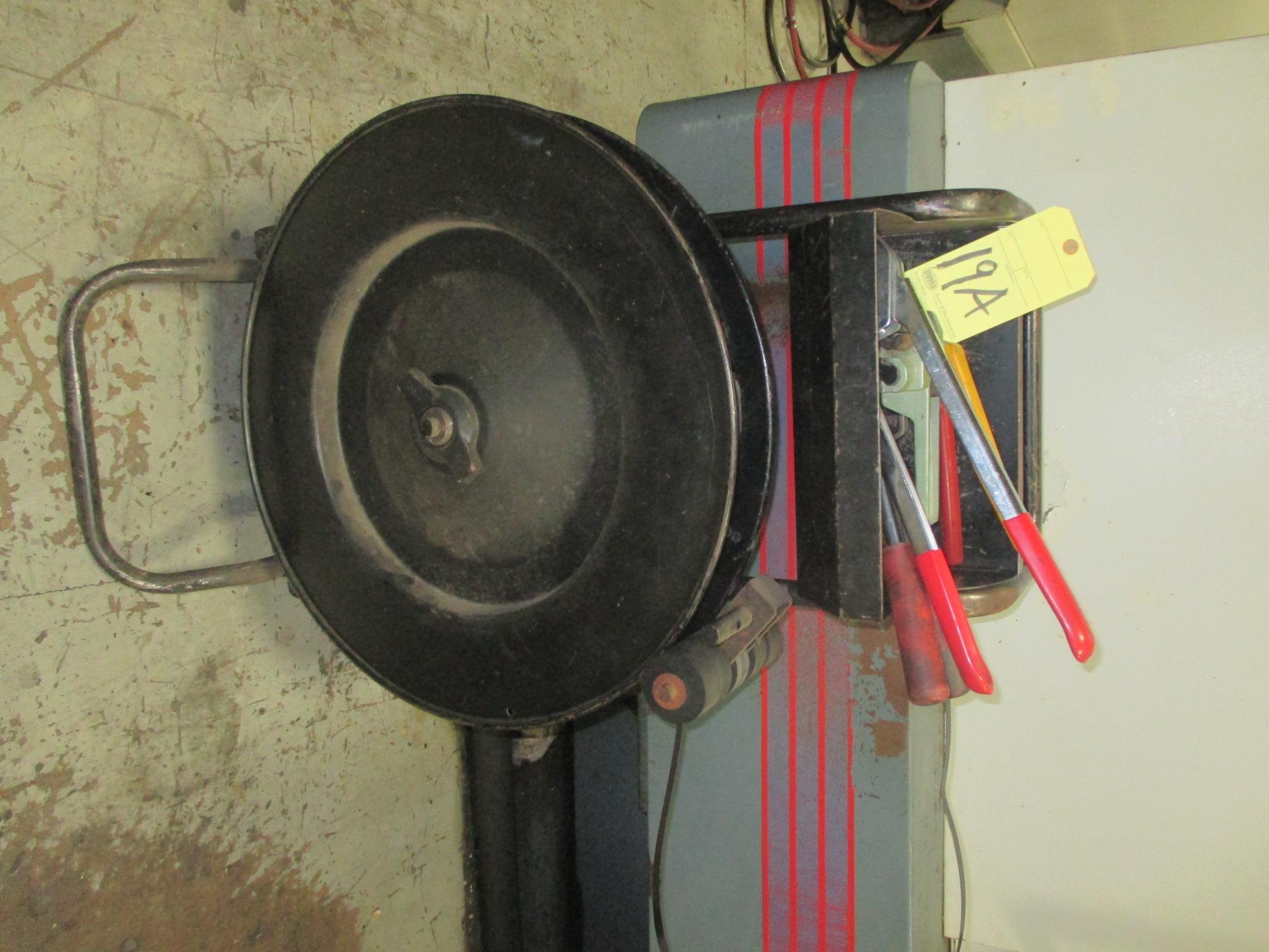 Lot 19A - BANDING CART, w/accessories