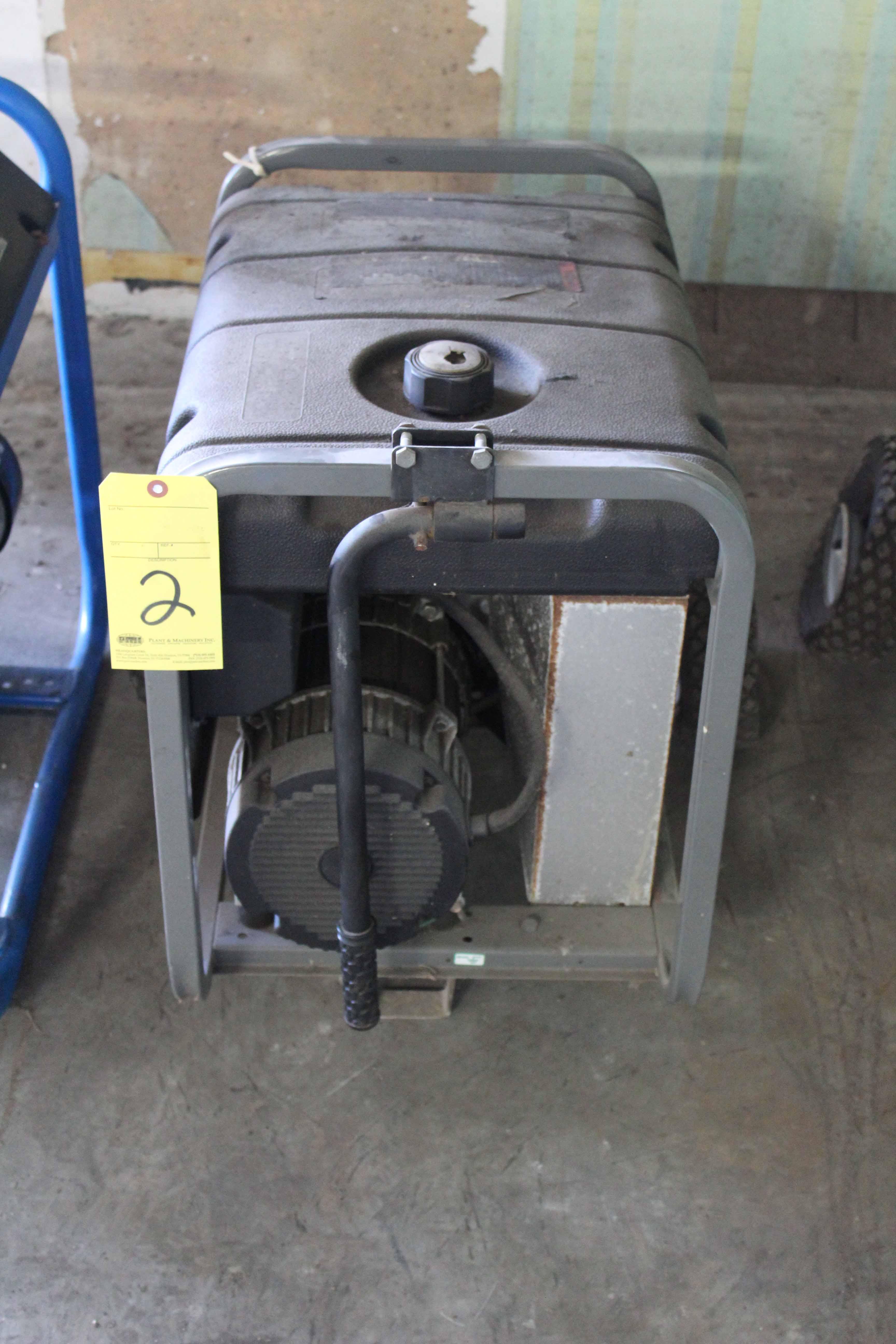 Lot 2 - PORTABLE GENERATOR, BRIGGS & STRATTON, 5,550 watt, gasoline pwrd.