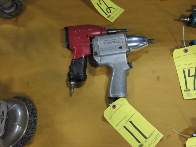 Lot 11 - LOT OF PNEUMATIC IMPACT WRENCHES (2)