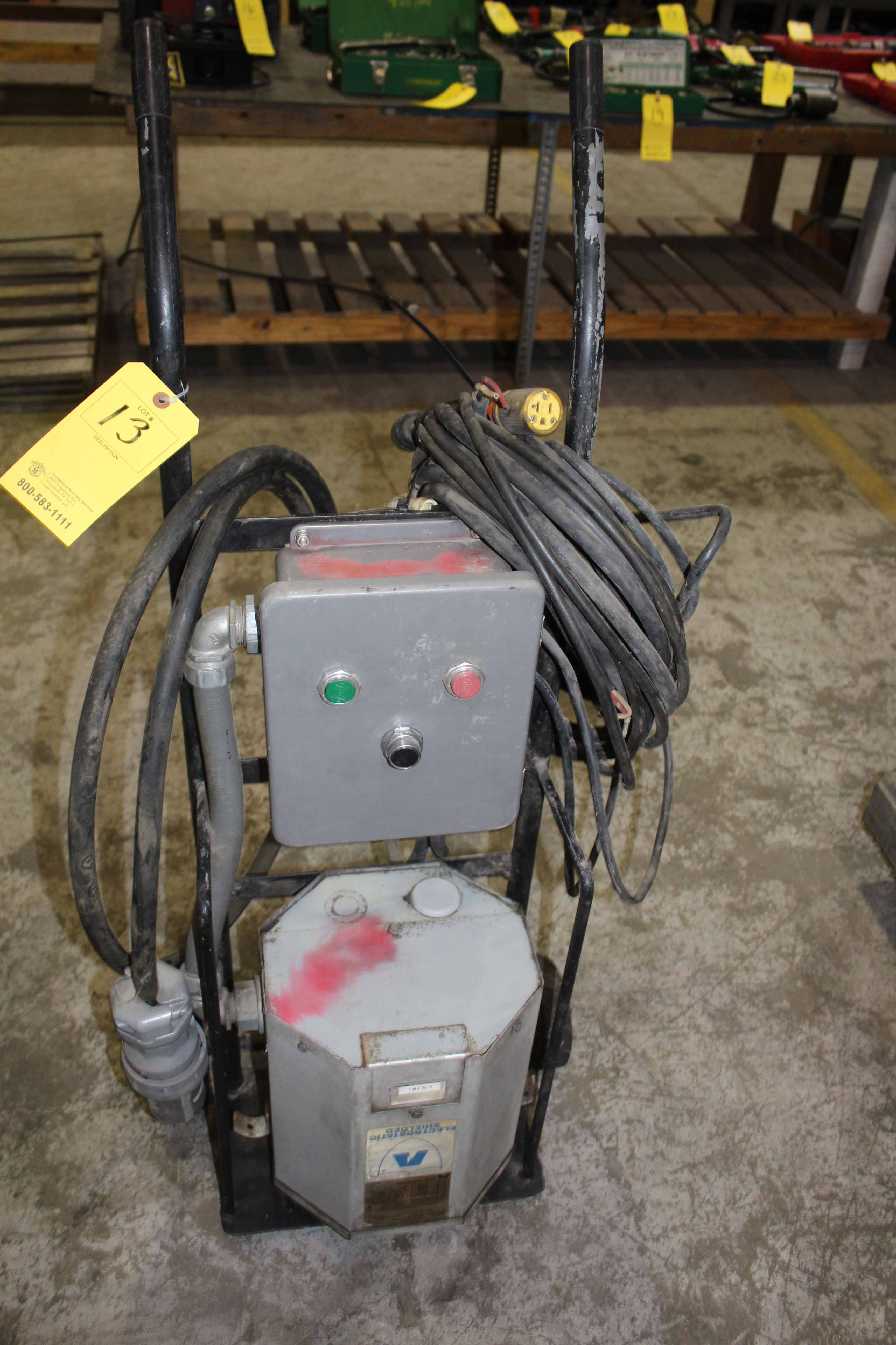 Lot 13 - PORTABLE ELECTROSTATIC SHIELDED TESTER