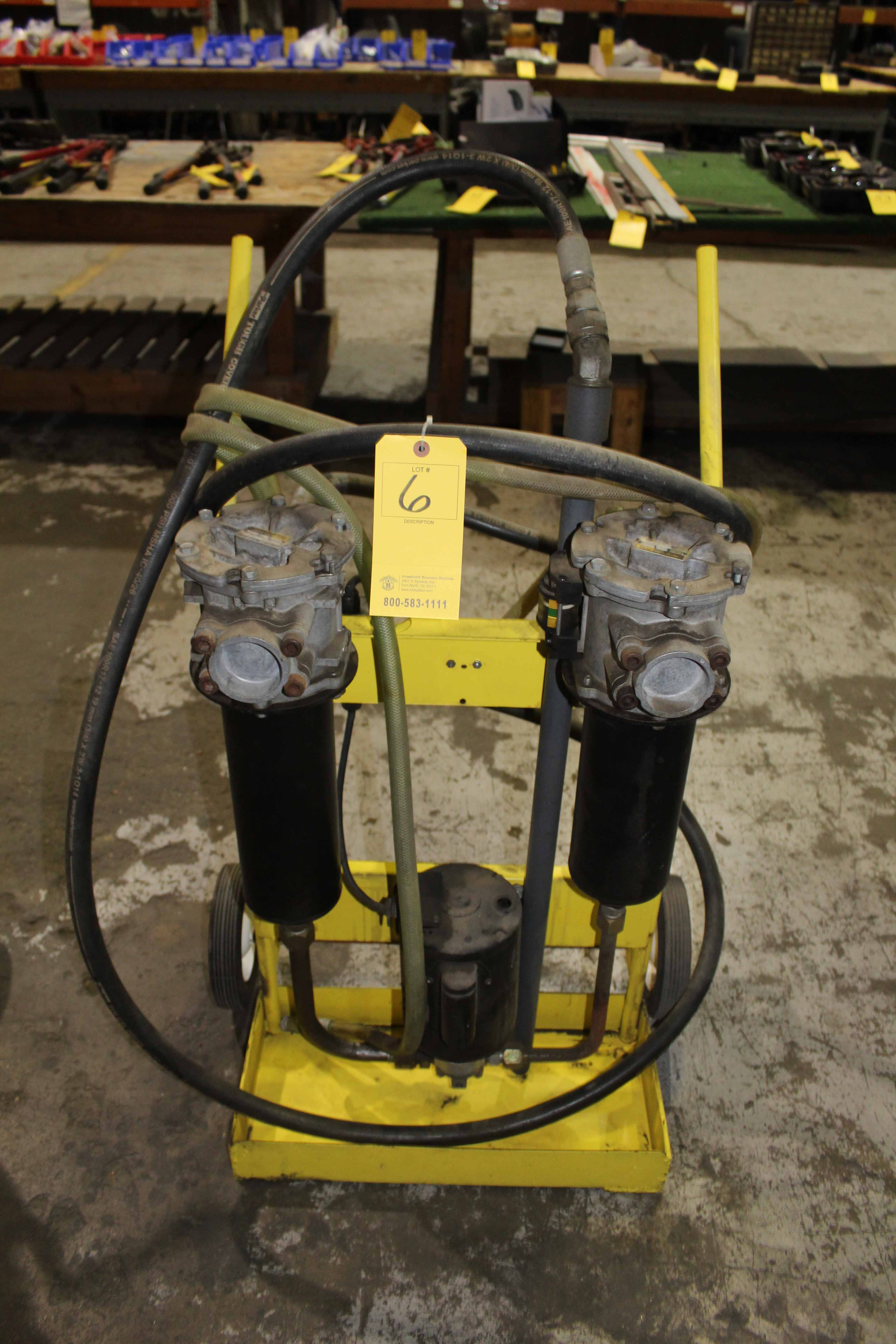 Lot 6 - PORTABLE HYDRAULIC FILTER SYSTEM