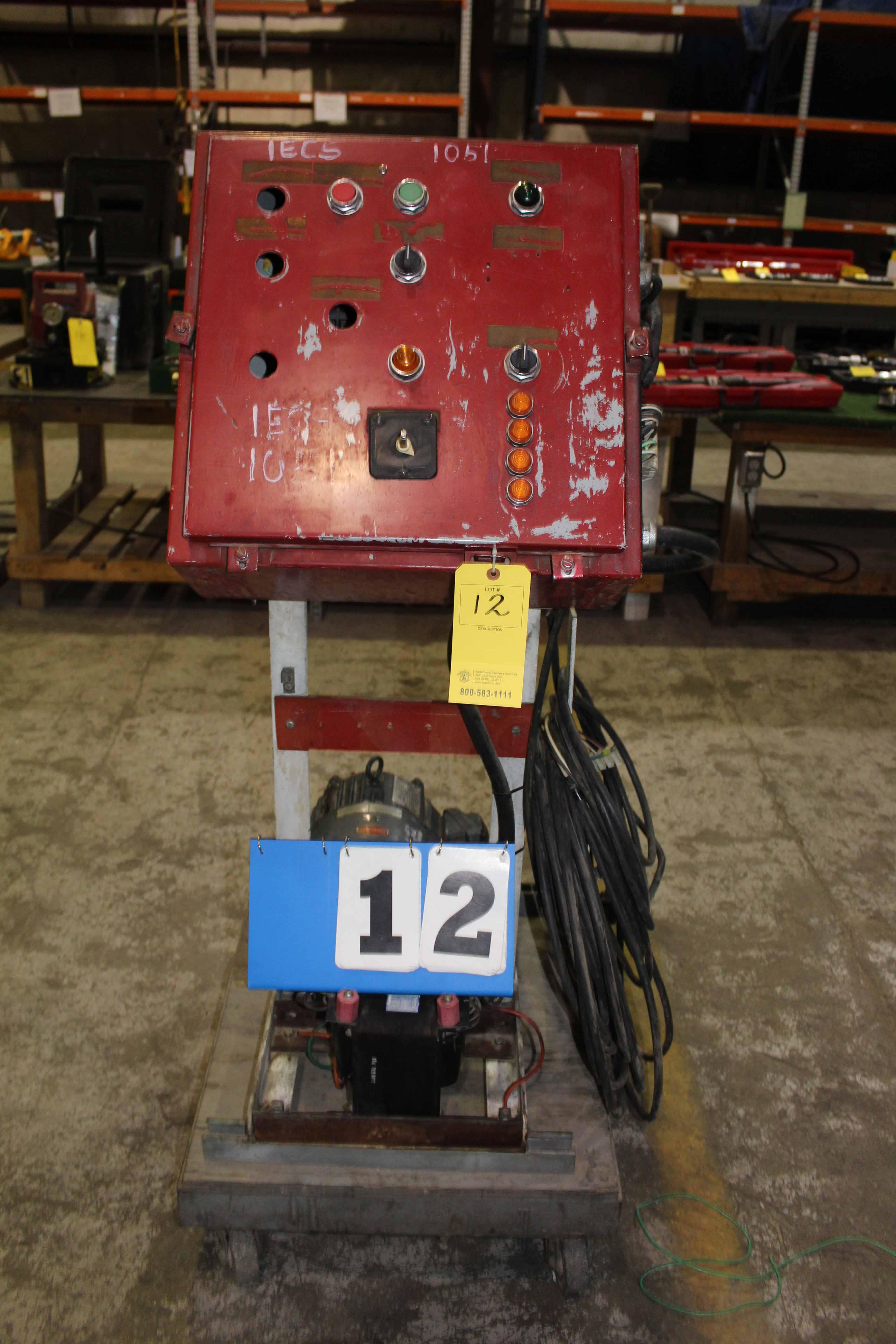 Lot 12 - DRILLERS CONTROL UNIT, CUSTOM
