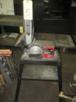 "Lot 5 - COMBINATION BELT/DISC SANDER, SKILL SHOPMASTER, 6"" disc, 4"" belt"