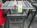 Lot 7 - TILTING ARBOR TABLE SAW, SKILSAW 10""