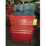 TOOLBOX, red (no tools)