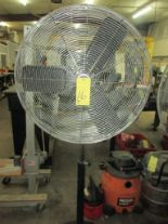 Lot 16 - PEDESTAL SHOP FAN, FLOW PRO 30""