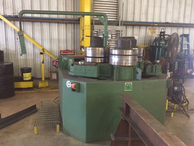 """Lot 2 - ROUNDO MDL. R-6-S ANGLE ROLL new 2001, Section Bending Machine, 6"""" x 6"""" x 5/8"""" Capacity, 3 roll"""