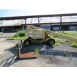 GROVE MDL. MZ46C MANLIFT, new 1997, 40' max. travel height, 500 lbs. max load. Steel toe shoes,