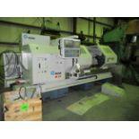 "ROMI MDL. M-27 27"" X 80"" COMBINATION CNC LATHE, new 2007, G.E. Fanuc 21i-T CNC control, 21"" dia. 4-"