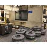 """SMTCL VANGUARD MDL. GTC20090 VERTICAL CNC LATHE, new 2008, Fanuc 18i-TB CNC control, 63"""" dia. table,"""
