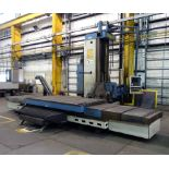 "GIDDINGS & LEWIS MDL. 70H-6T-3X CNC TABLE TYPE HORIZONTAL BORING MILL, Numatix CNC control, 6"" spdl."
