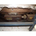 """CINCINNATI GILBERT 50"""" X 72"""" X 16"""" HT. AIR LIFT ROTARY TABLE The client will load this machine at no"""