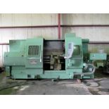 """NISSIN MDL. NST-40/125 CNC LATHE, rewired & retrofitted in 2010, NCT CNC control, 26"""" sw. over"""