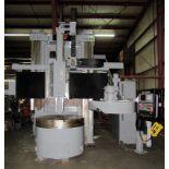 "BULLARD DYN-AU-TAPE 56"" CNC VERTICAL BORING MILL, retrofitted 9/2008 by Essex Machine Tool Services,"