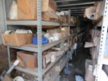 "Lot 11 - 40' CONTAINER with shelves of ½"" to 8"" PVC fittings. Seller will load for an additional charge."