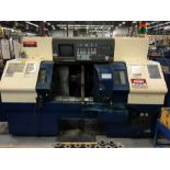 "MAZAK MDL. DUAL TURN 20 CNC LATHE, new 1997, Mazatrol T Plus CNC control, 12.6"" sw. over bed, 10"""