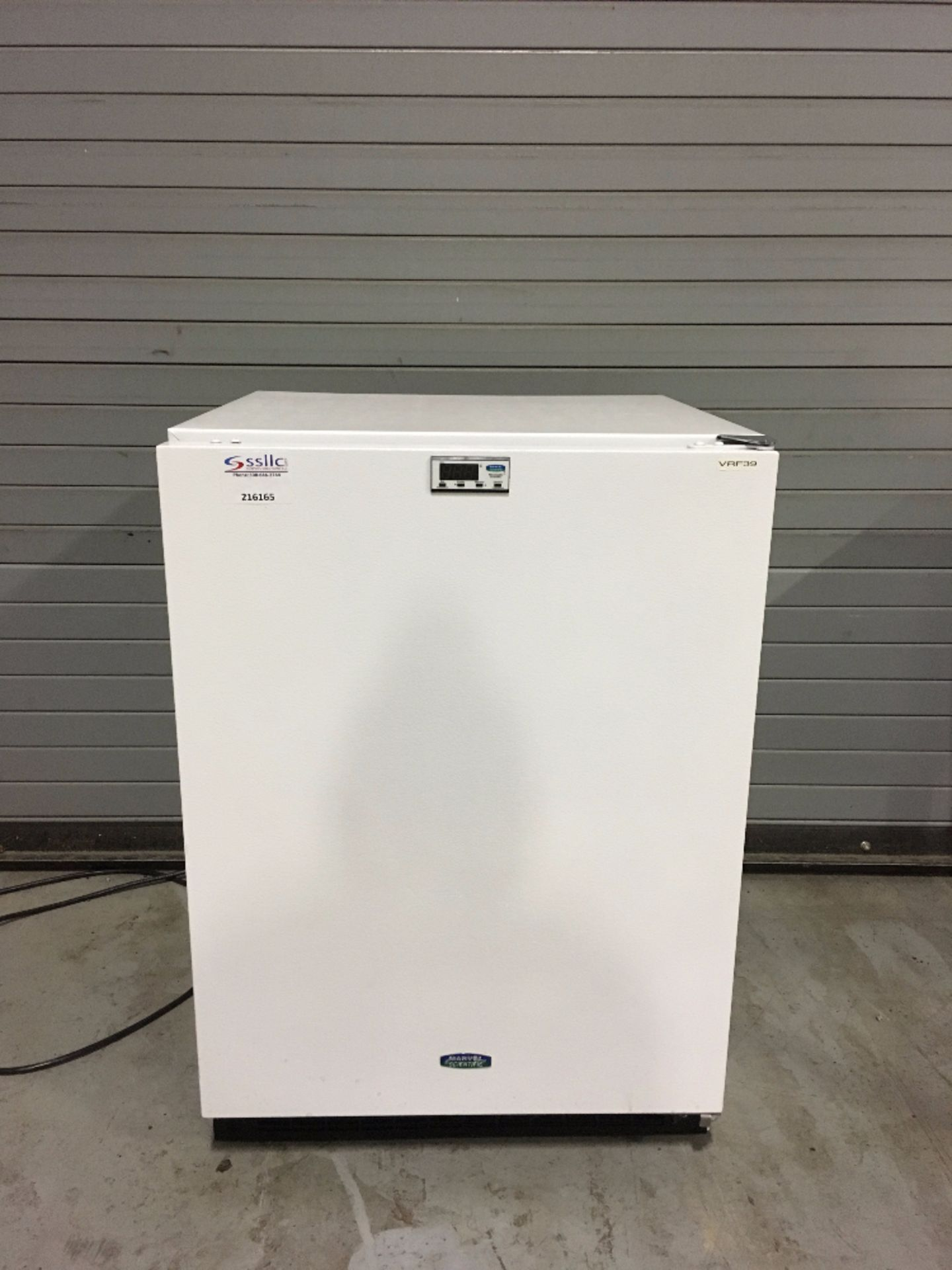 Marvel Scientific Model 6RFXWWR Refrigeration Unit